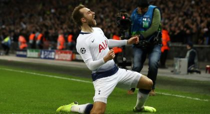 Eriksen enough to reverse fortunes and deliver silverware to Inter