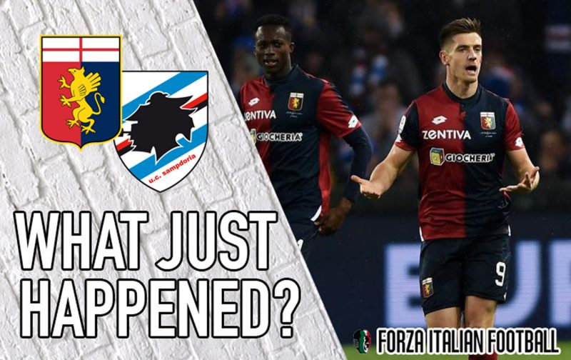 VIDEO: Genoa 1-1 Sampdoria – What Just Happened?