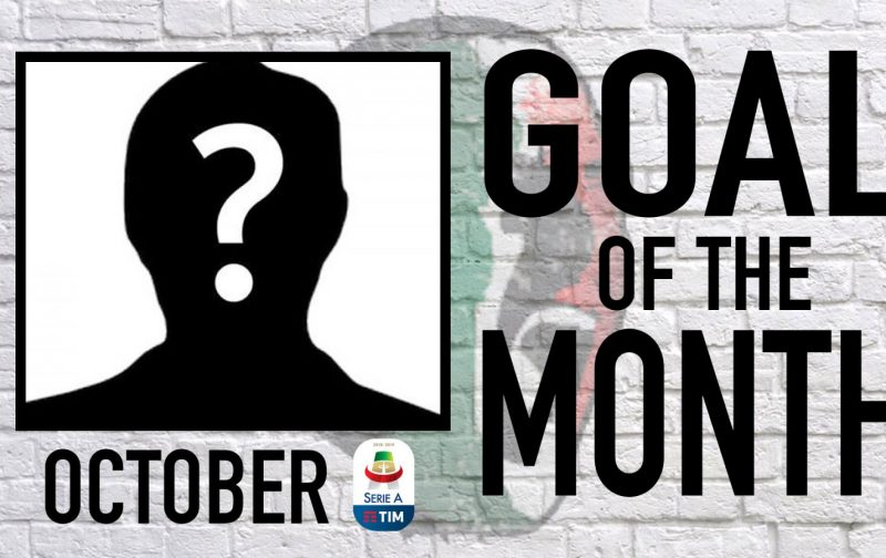 Serie A Goal of the Month | October 2018