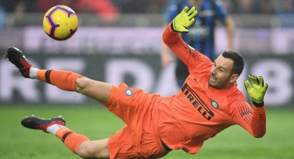 Inter's Handanovic sets Serie A record after Chievo win
