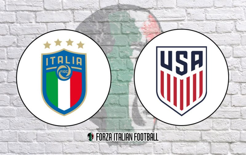 Official Line-Ups: Italy v USA