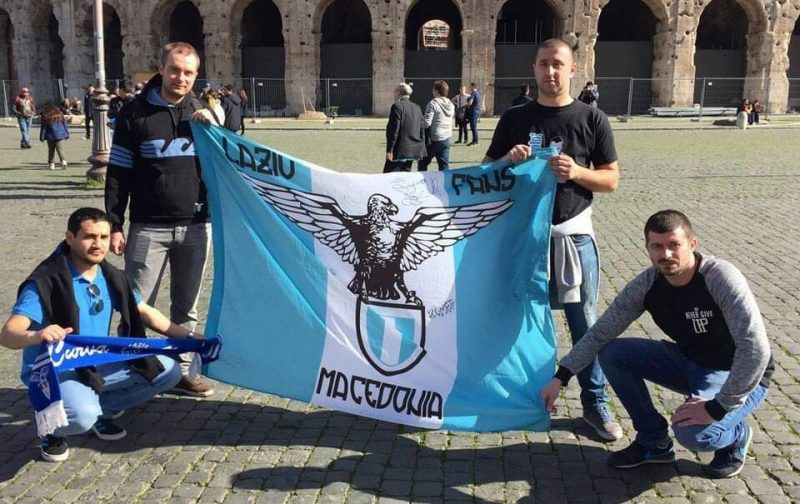 Fans Worldwide: Lazio Fans Macedonia
