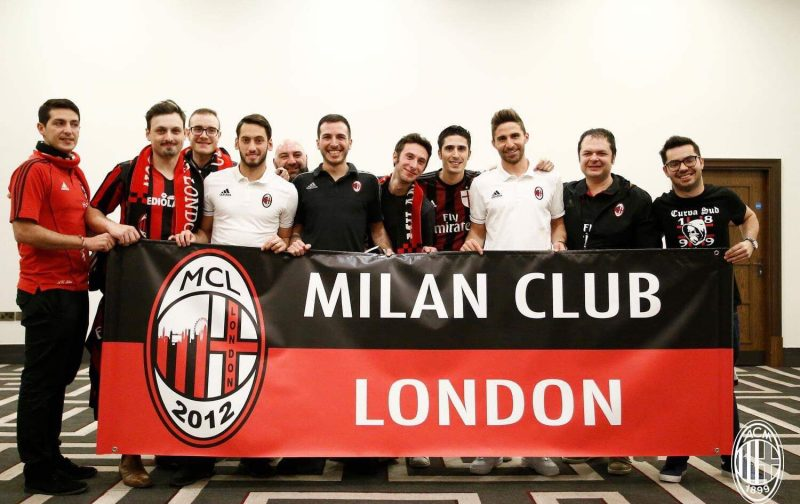 Fans Worldwide: Milan Club London
