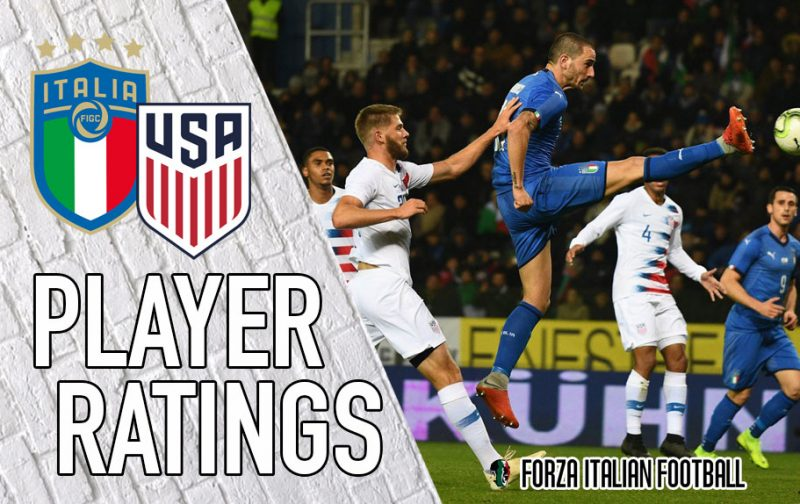 Italy player ratings: Super Sensi shines as Azzurri down USA