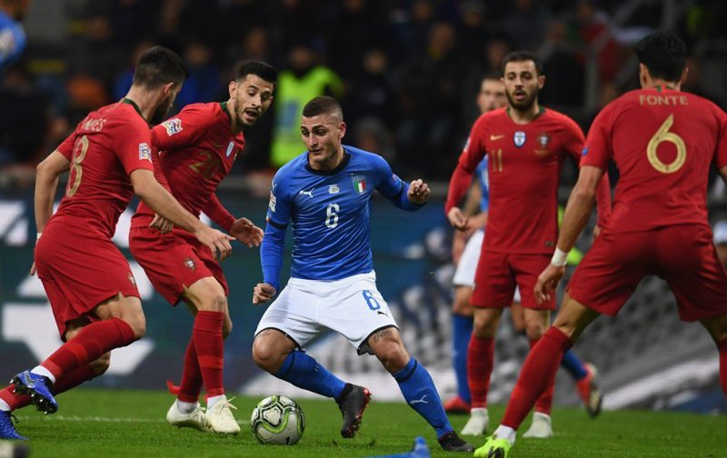 Dominant Italy unable to break down Portugal