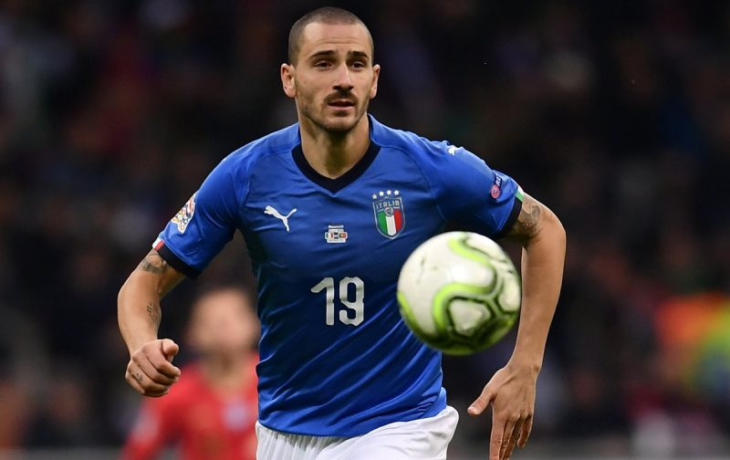 Bonucci: The imbeciles' mother is always pregnant