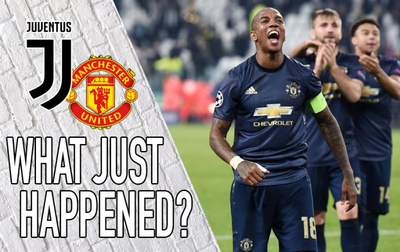 VIDEO: Juventus 1-2 Manchester United – What Just Happened?