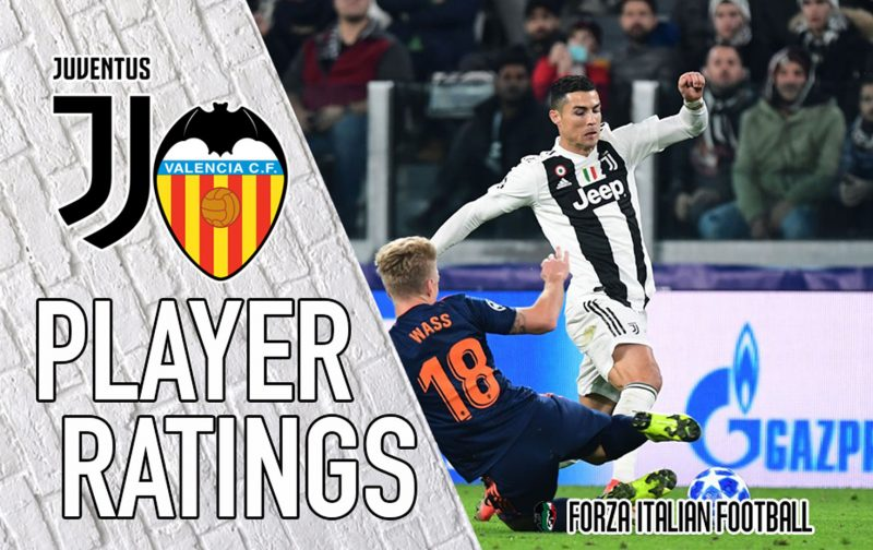 Juventus player ratings: Mandzukic steps up to down Valencia
