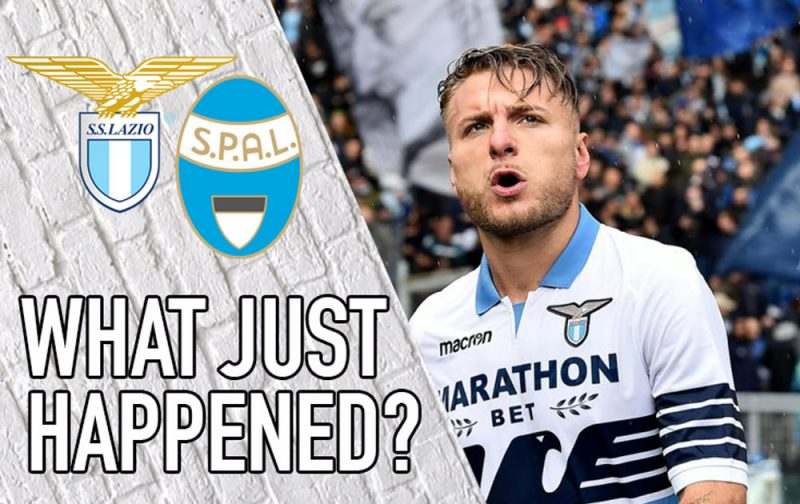 VIDEO: Lazio 4-1 SPAL – What Just Happened?