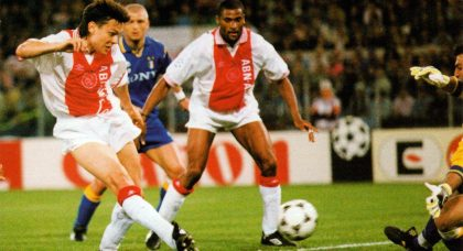 Endt: Ajax lost to a doped Juventus in 1996