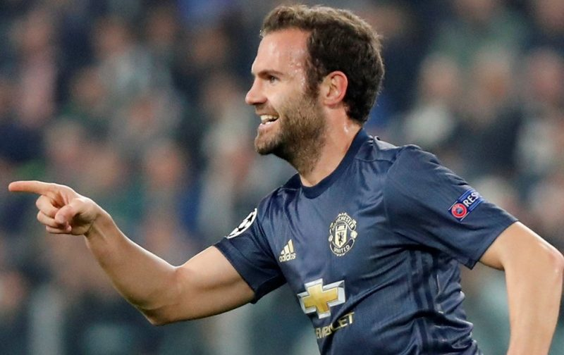 Late Manchester United double downs Juventus