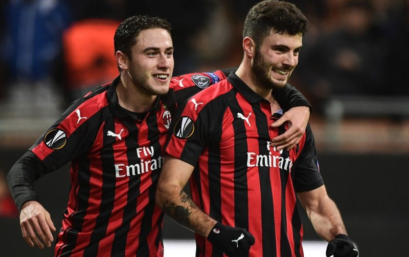 AC Milan recover after Dudelange scare
