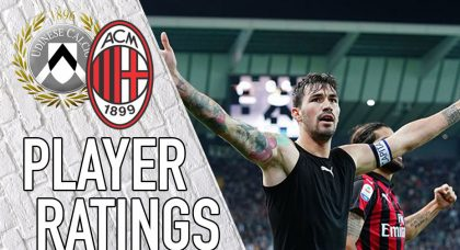 AC Milan Player Ratings: Captain Romagnoli Saves The Day