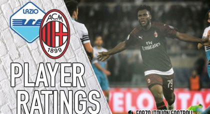 AC Milan Player Ratings: Kessie's efforts not enough to secure three points