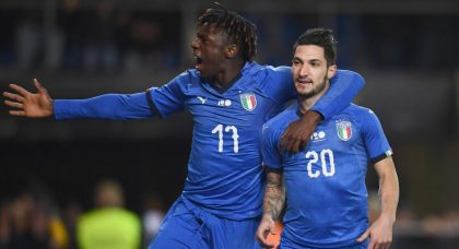 Kean first to break 2000 barrier for Italy