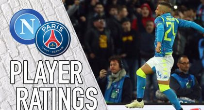 Napoli Player Ratings: Incisive Insigne rescues point against PSG