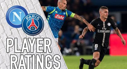 Paris Saint-Germain Player Ratings: Buffon rolls back the years to frustrate Napoli