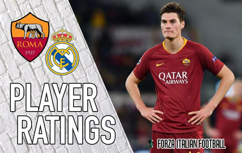 Roma player ratings: Fumbling Fazio costs Giallorossi dear against Real Madrid