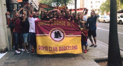 Fans Worldwide: Roma Club Barcelona – Unico Grande Amor