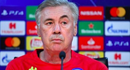 Ancelotti: Frosinone win sets tone for Liverpool clash