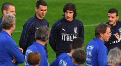 Italy to take on Portugal with surprise new-look squad