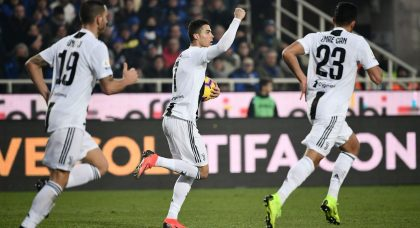 Cristiano Ronaldo saves Juventus' blushes at Atalanta