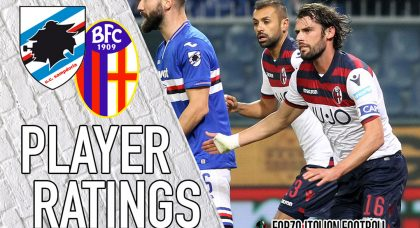 Bologna Player Ratings: Mistakes all round