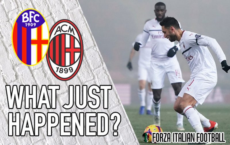 VIDEO: Bologna 0-0 AC Milan – What Just Happened?