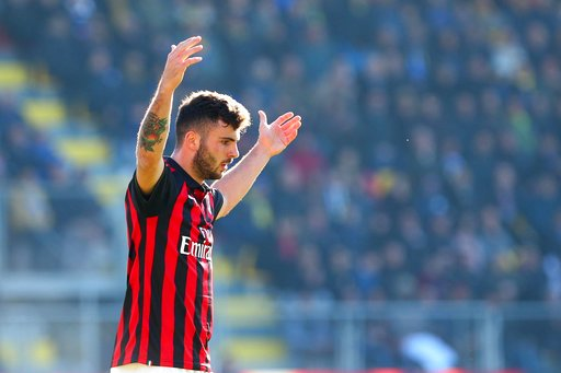 Lifeless AC Milan's goalscoring woes continue in Frosinone stalemate