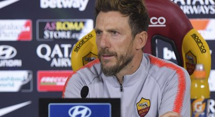 Di Francesco: There were lots of positives for Roma