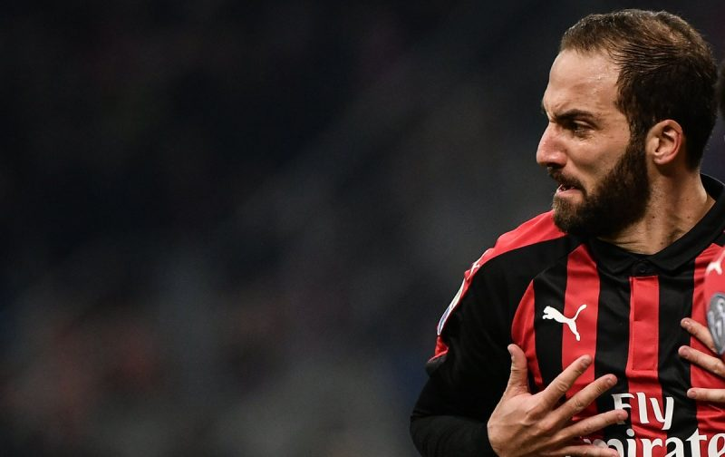 AC Milan down SPAL thanks to Higuain