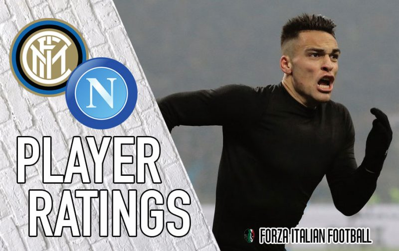 Inter Player Ratings: Bullish Lautaro saves the day