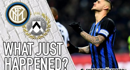 VIDEO: Inter 1-0 Udinese – What Just Happened?