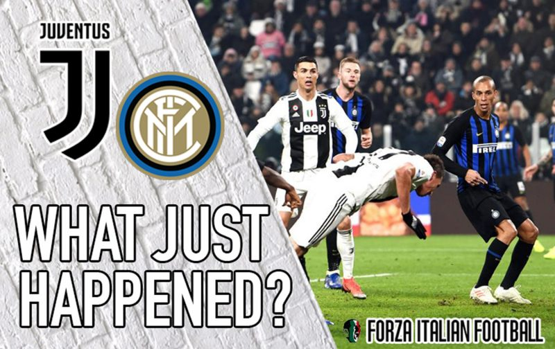 VIDEO: Juventus 1-0 Inter – What Just Happened?