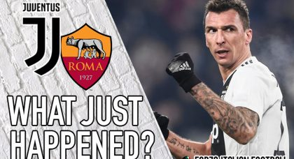 VIDEO: Juventus 1-0 Roma – What Just Happened?