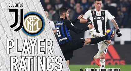 Juventus Player Ratings: Mandzukic delivers when it matters most