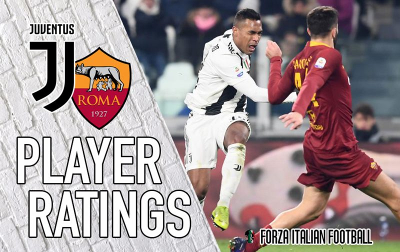 Juventus player ratings: Mandzukic the difference as Roma are put to the sword