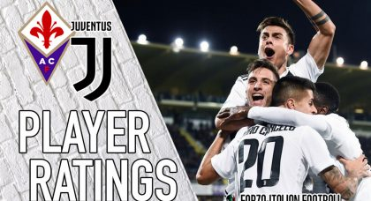Juventus Player Ratings: Chiellini majestic, Bentancur bosses the midfield
