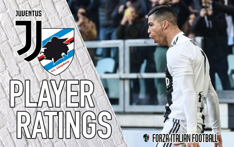 Juventus Player Ratings: Cristiano Ronaldo the saviour