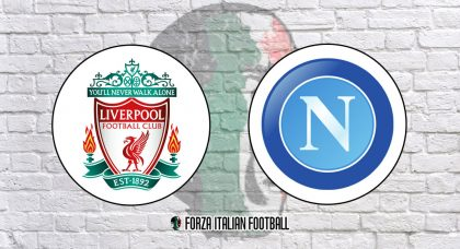 Liverpool v Napoli: Official Line-Ups