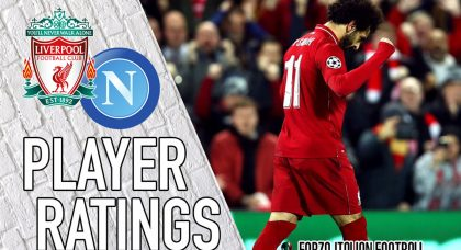 Liverpool player ratings: Salah sends Napoli spiralling out of Champions League