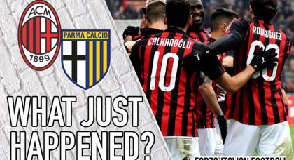 VIDEO: AC Milan 2-1 Parma – What Just Happened?