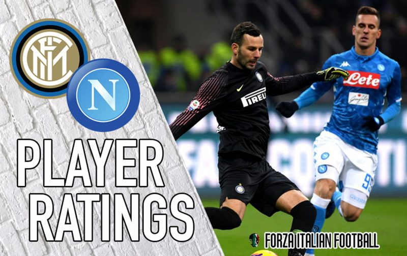 Napoli Player Ratings: Koulibaly and Insigne lose their heads