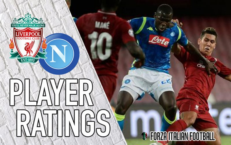 Napoli player ratings: Koulibaly best of bad bunch as Liverpool inflict misery