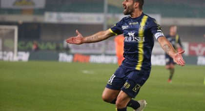 Chievo hang on to get a point against Lazio