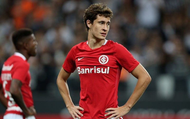 AC Milan tracking Internacional midfielder
