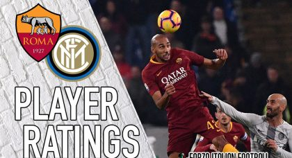 Roma player ratings: Zaniolo sparkles as Giallorossi salvage Inter draw