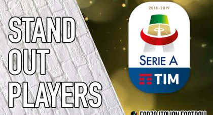 Serie A standouts: Each club's best player in 2018