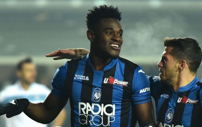 Napoli Contemplate Return of Atalanta Striker