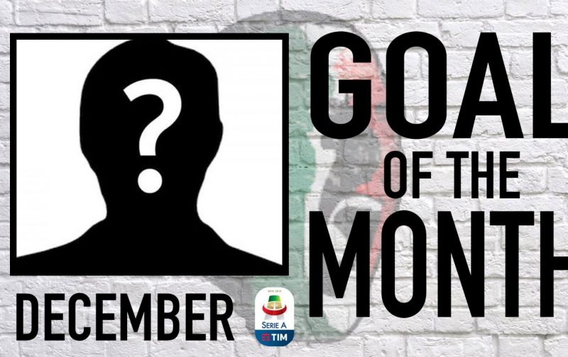 Serie A Goal of the Month | December 2018